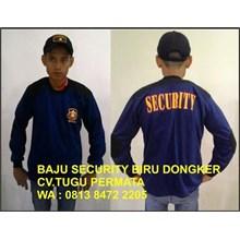 BAJU SECURITY BIRU DONGKER & BIRU TERANG