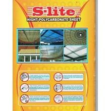 Atap Polycarbonate Sheet Slite