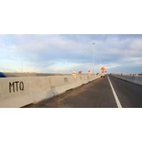 Distributor Road Barrier Beton 3