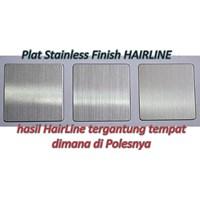 Jual Distributor Plat Stainless Dop/Kilat/Hairline/Perforrated(Lubang)/Bordes(Bunga) SS 430/201/304 2