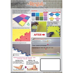 Distributor Floor Mat Polyethylene