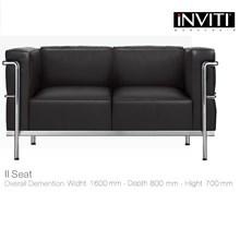 Kursi Kantor Sofa Inviti Busier 2 Seat