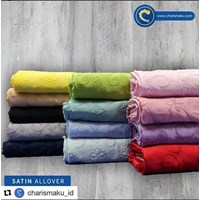Jual Kain Bordir dan Tekstil - Satin Allover