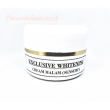 Exclusive Whitening Night Cream / Cream Kiloan Pemutih Eksklusif