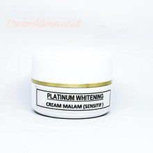 Cream Pemutih Platinum (Sensitif) / Cream Kiloan Platinum Whitening