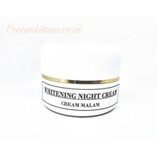 Cream Malam Pemutih Wajah Seri 1 / Cream Kiloan Malam