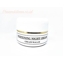 Cream Pemutih Wajah Seri 2 / Cream Malam Kiloan