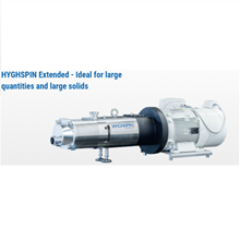 Twin Screw Pump Merk HYGHSPIN Jung Twin For High Volume Flows Or Large Lumpy SANITARY PUMP