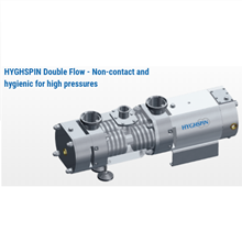 Twin Screw Pump Merk HYGHSPIN Double Flow Jung Twin For High Differential Pressures SANITARY PUMP