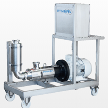 POMPA TWINSCREW Merk HYGHSPIN Complete Solutions SANITRAY PUMP