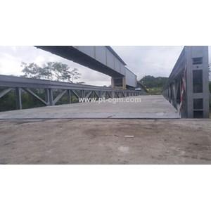 Jembatan Rangka Baja Bailey Murah SSR DSR DDSR