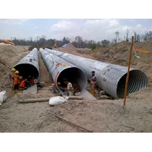Corrugated Steel Pipe Aramco Multi Plate Pipe
