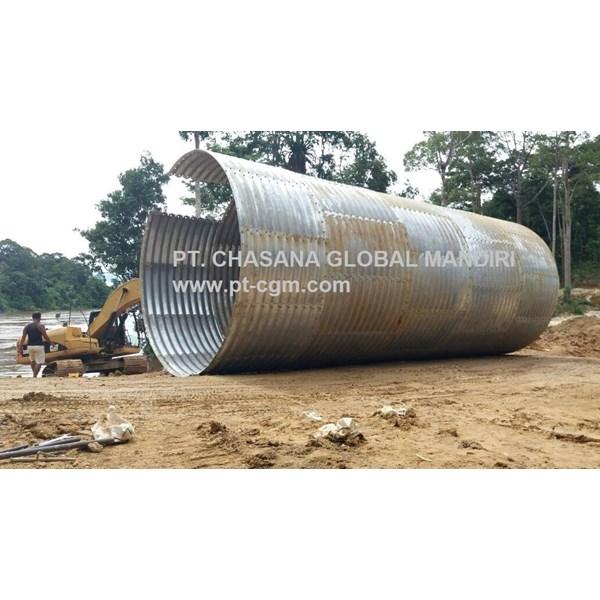 Corrugated Steel Pipe Aramco Multi Plate Pipe
