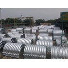 Corrugated Steel Pipe type Nestable Flange E-100 6