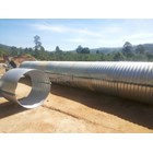 Corrugated Steel Pipe type Nestable Flange E-100 1