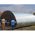 Corrugated Steel Pipe type Multi Plate Pipe Arches 8
