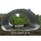 Corrugated Steel Pipe type Multi Plate Pipe Arches 1