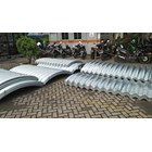 Corrugated Steel Pipe type Multi Plate Pipe Arches 3