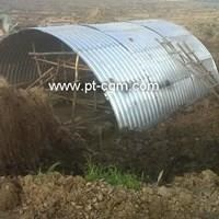 CORRUGATED STEEL PIPE MULTI PLATE ARCHES