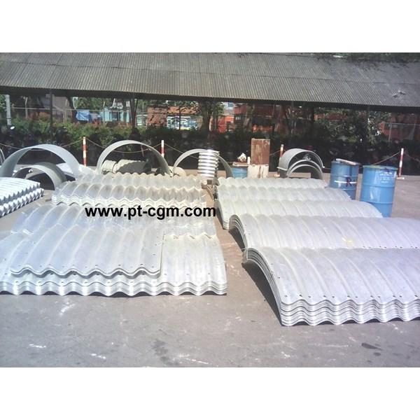 CORRUGATED STEEL PIPE MULTI PLATE ARCHES