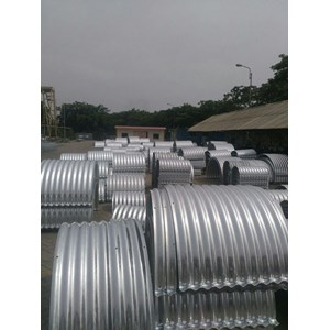 Ready stock Corrugated Steel Pipe/Gorong Gorong Baja
