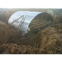 Distributor Gorong gorong baja/Corrugated steel pipe/Armco/Pipa baja gelombang 3