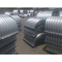 Gorong gorong baja/Corrugated steel pipe/Armco/Pipa baja gelombang
