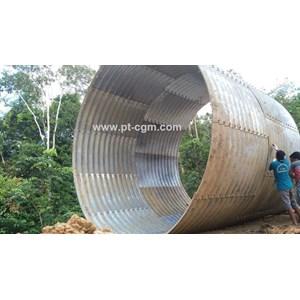 Gorong Gorong Baja Type Multi Plate Pipe