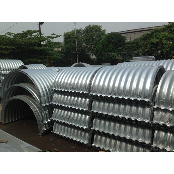 Corrugated Steel Pipe Armco Nestable Flange E 100