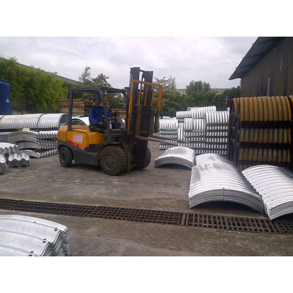 Corrugated Steel Pipe Culverts