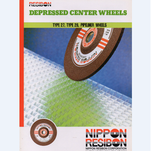 Batu Gerinda Nippon Resibon Depressed Center Wheels