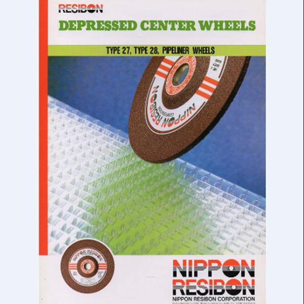 Grinding Stone Nippon Resibon Depressed Center Wheels