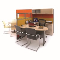 Meja Kantor Manager Desk