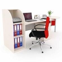 Meja Kantor Secretary  Desk
