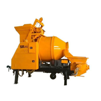 Mesin Pengaduk Beton / Trailer Concrete Mixer Pump  1