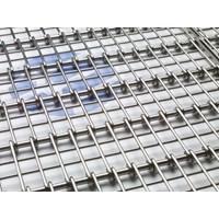 Wiremesh Conveyor Radius Grid