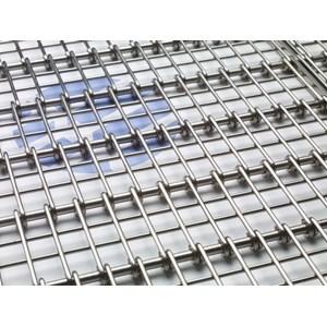 Dari Wiremesh Conveyor Radius Grid 0