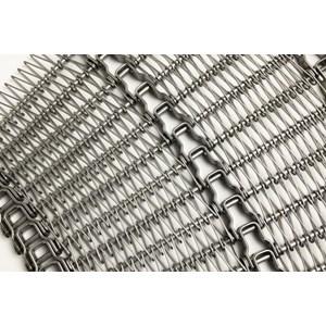 Wiremesh Conveyor Radius Turn Belt