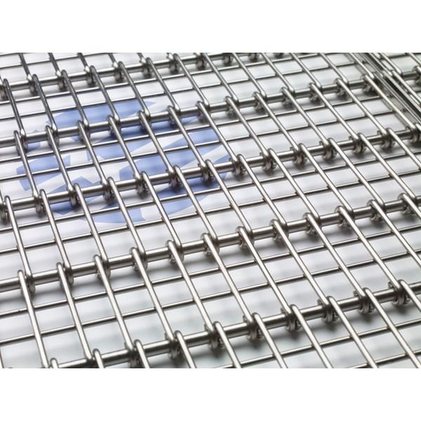 Wiremesh Conveyor Radius Grid Glodok