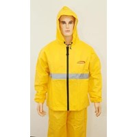 Distributor  Jas Hujan LEOPARD 100% Waterprof Breathable B / C 0288 Yellow 3