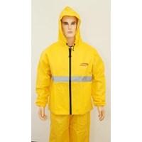 Jual  Jas Hujan LEOPARD 100% Waterprof Breathable B / C 0288 Yellow 2