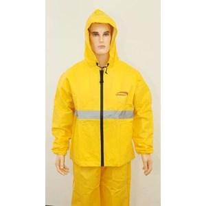 Jas Hujan LEOPARD 100% Waterprof Breathable B / C 0288 Yellow