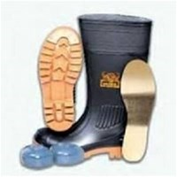 Jual  Safety Shoes Boot Wayna Heavy Duty PVC-1310 2