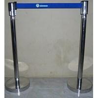 Jual Tiang antri stainless 80 cm 2