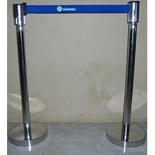 Tiang antri stainless 80 cm