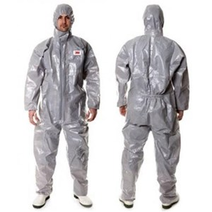 Coverall grey 3M size L 4570