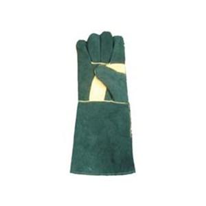 16 Inches Leather Glove wiht Full Seam