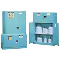 Blue Steel Safety Cabinets For Corrosives 1