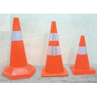 Traffic Cone ( Hard Plastic Material) 1