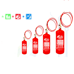 Fire Extinguisher Fencer HFC 125 Clean Agent Type Automatic Fire Place